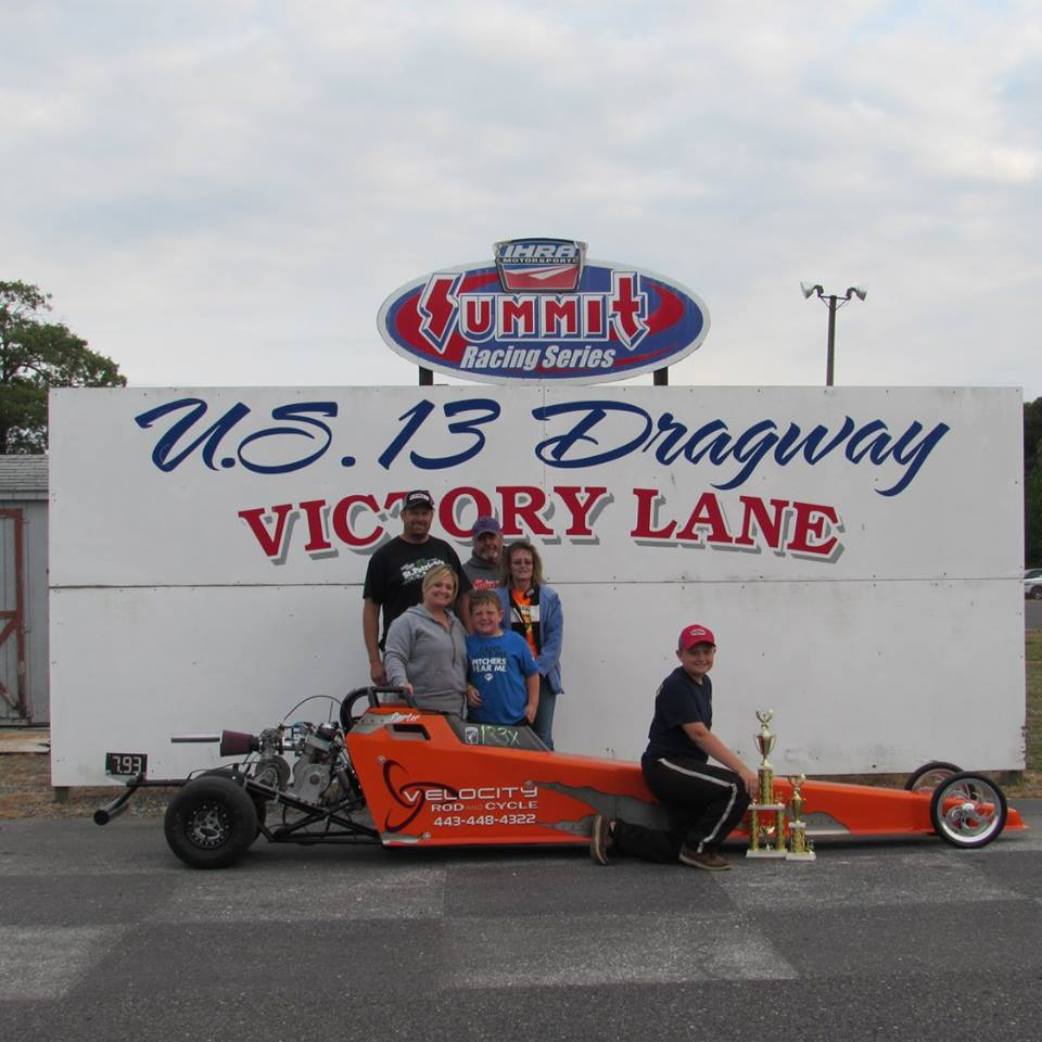 Drag Racing: Foskey Takes Jr. Dragster 2 Win: U. S. 13 Dragway