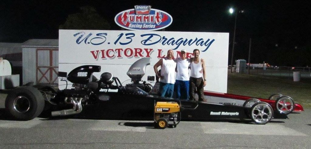 Drag Racing: Russell Brothers Meet in Finals: U. S. 13 Dragway