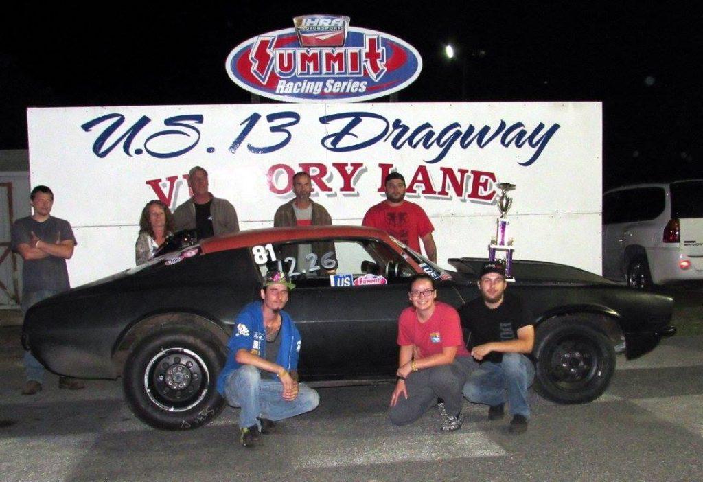 Drag Racing: Davis Takes Hot Rod Win: U. S. 13 Dragway