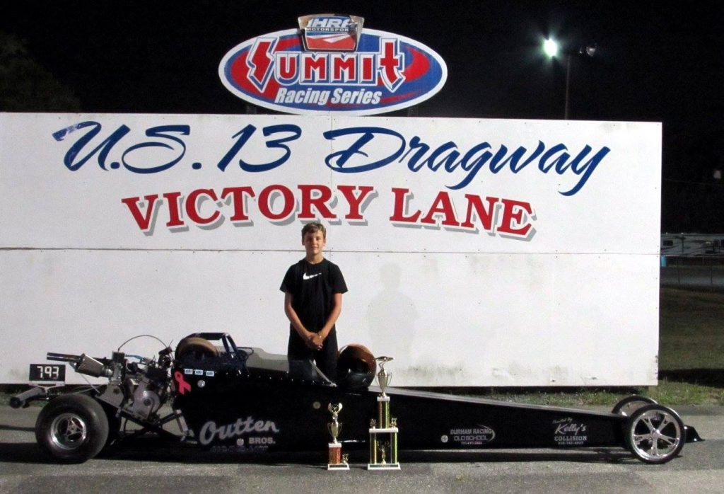 Drag Racing: Holston Takes Win in Jr. Dragster 2: U. S. 13 Dragway