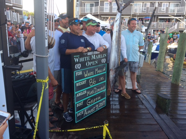 86-Pound White Marlin Tops Leaderboard on Day Three