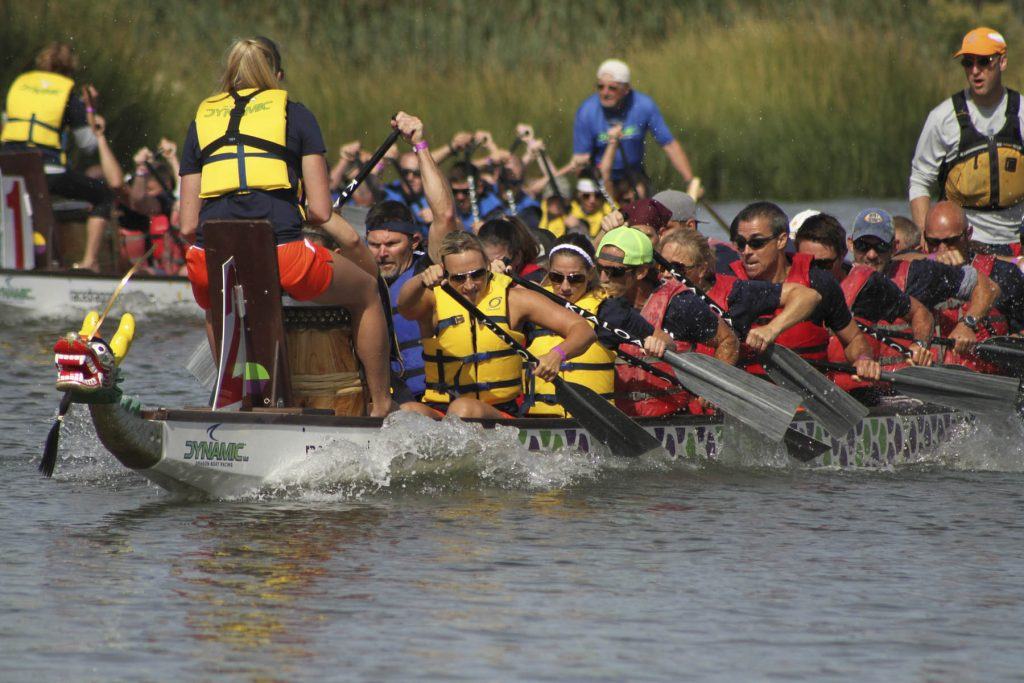 Fifth Annual Lewes Dragon Boat Festival This Weekend