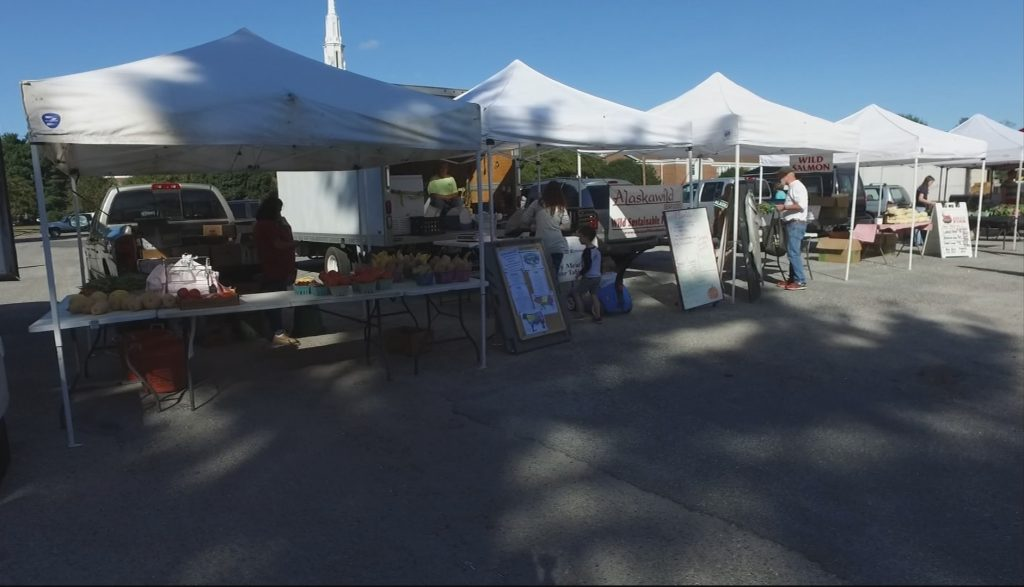 Travels With Charlie: Friends at the Camden Avenue Farmer's Market