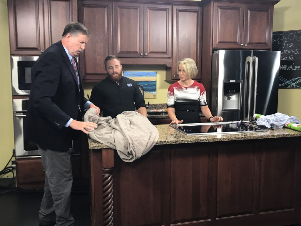 Corey Shares Life Hacks – Folding a Fitted Sheet, Remove Strawberry Stem with Straw, and More