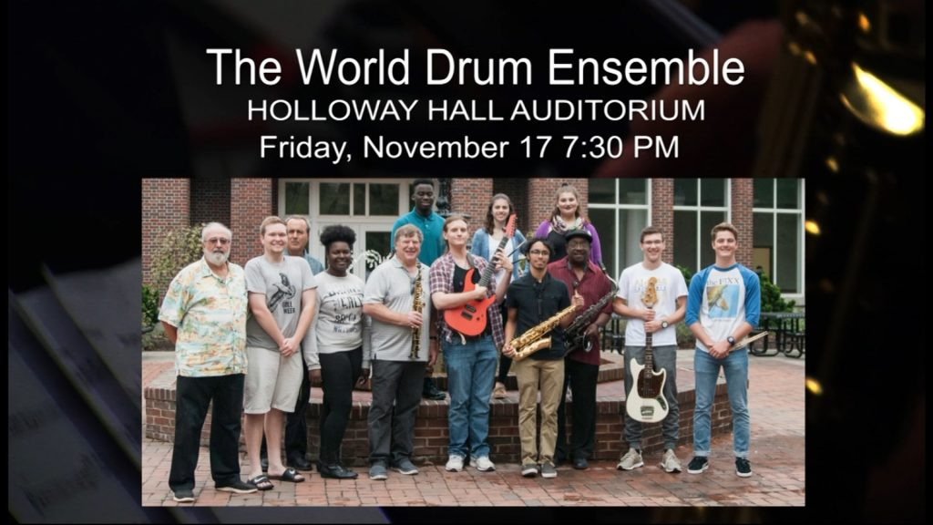 Travels With Charlie: World Drum Ensemble
