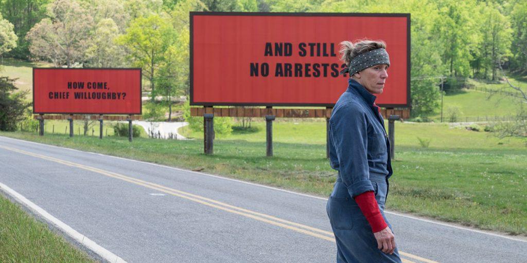 Movie Review – Three Billboards Outside Ebbing, Missouri
