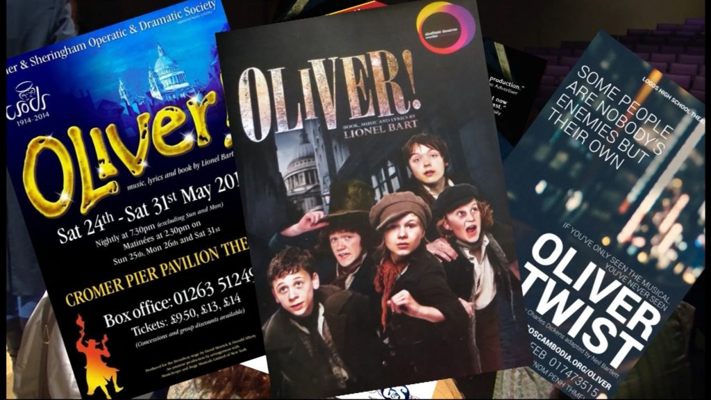 Travels With Charlie: Oliver Twist at Washington High Academy