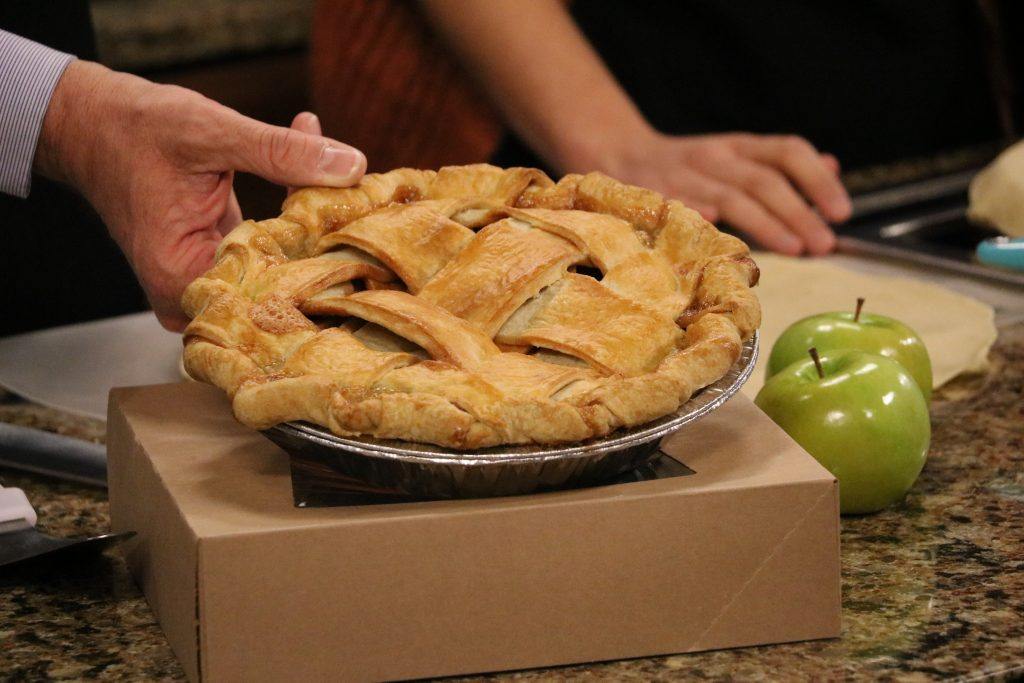 Classic Apple Pie with Lattice Crust with The Ugly Pie