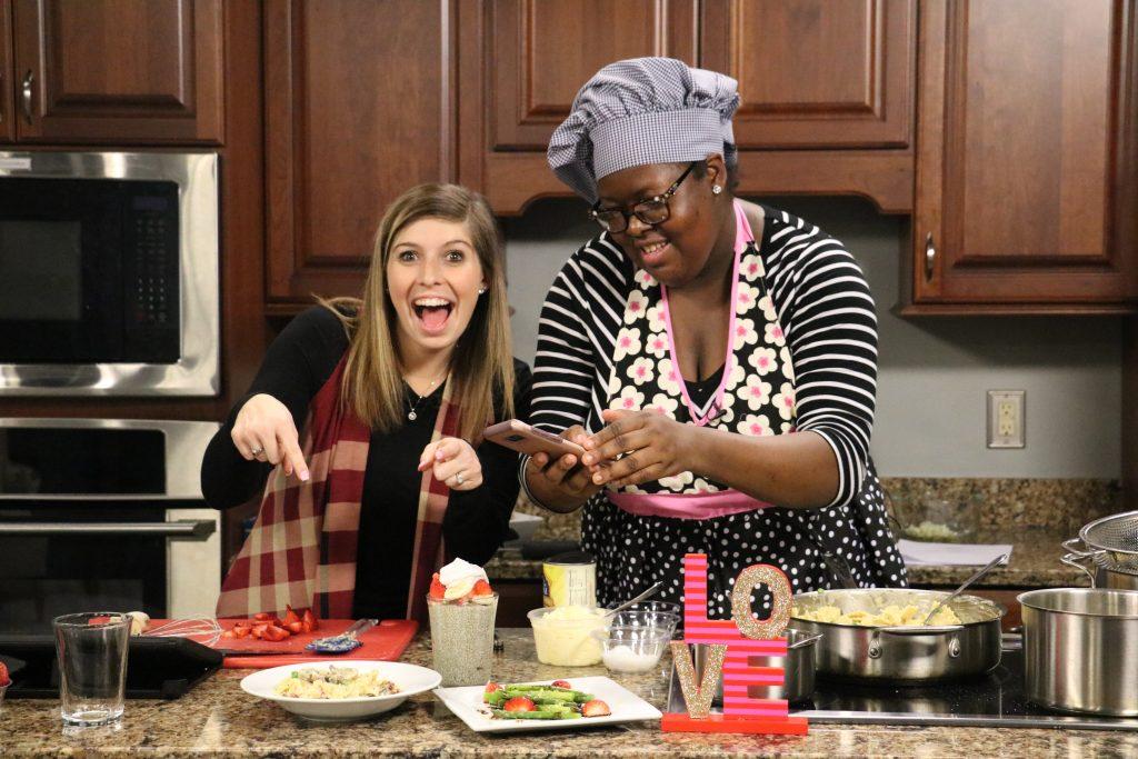 Asparagus and Strawberry Salad, Vegan Cauliflower Alfredo, and Strawberry Banana Chia Pudding: DelmarvaLife Facebook Live Recipes – Feb. 14, 2018