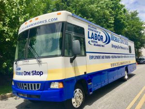 WBOC Job Fair Delaware Dept Of Labor Mobile One Stop Unit