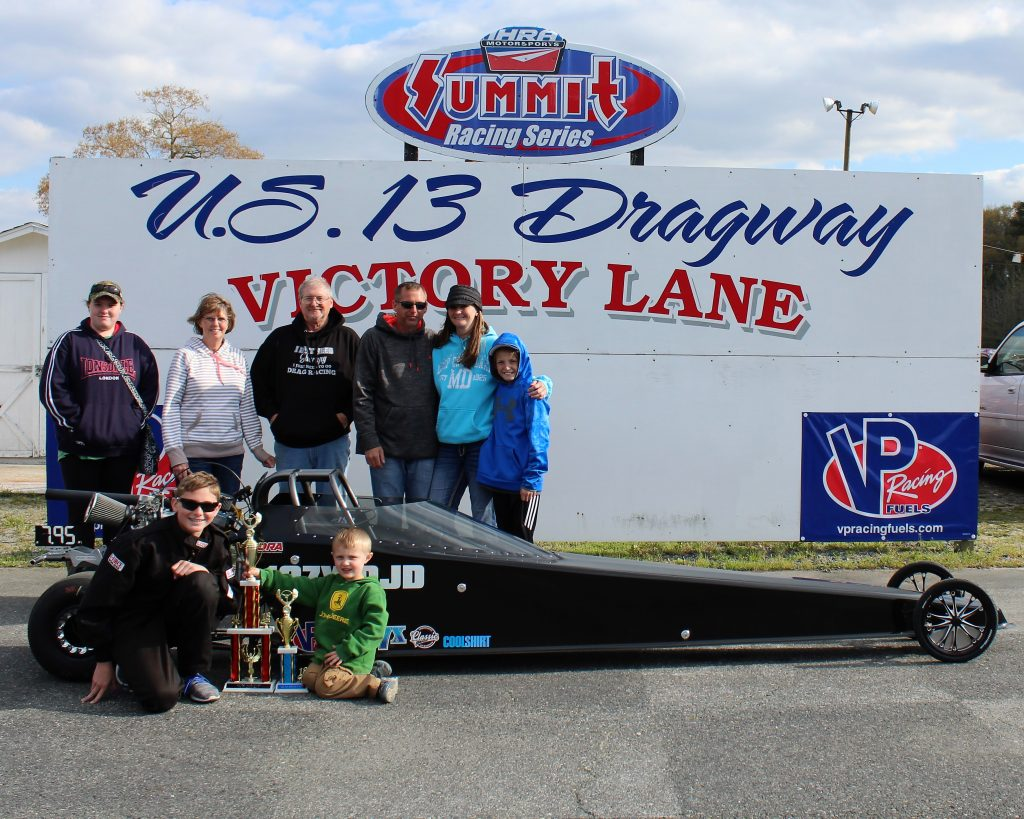 Shirkey Takes Win in Jr. Dragster Class at U. S. 13 Dragway