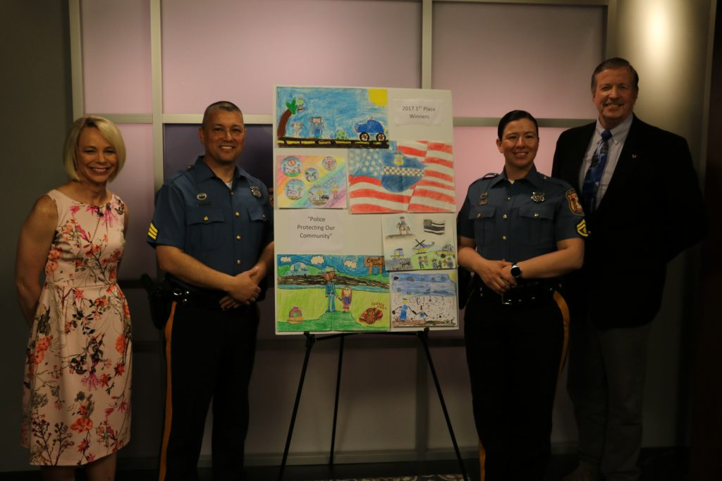 Delaware State Police Community Outreach Children's Art Contest