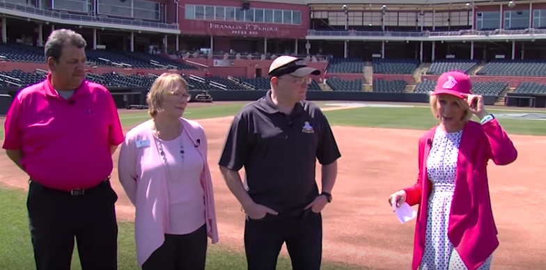 Spicer Bros. Construction and Women Supporting Women, Delmarva Shorebirds Game Hat Giveaway