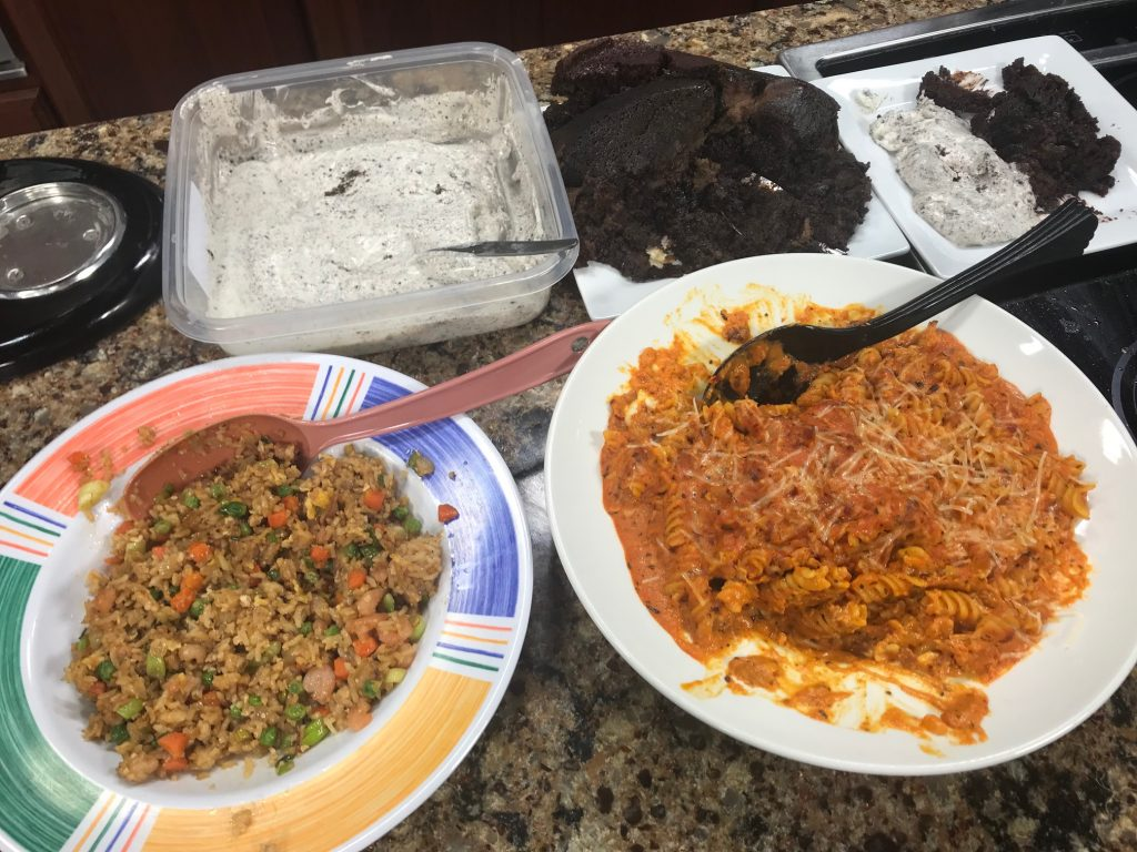 DelmarvaLife Live Cooking: Cajun Red Bean Burgers, One-Pan Shrimp Fried Rice, Monday Night Amatriciana, and Dessert with Delivery Dinners of Delaware