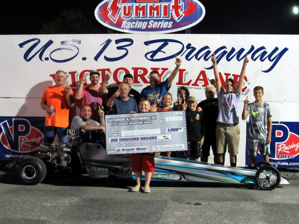 Foskey Wins Ray Townsend III Memorial Race at U. S. 13 Dragway