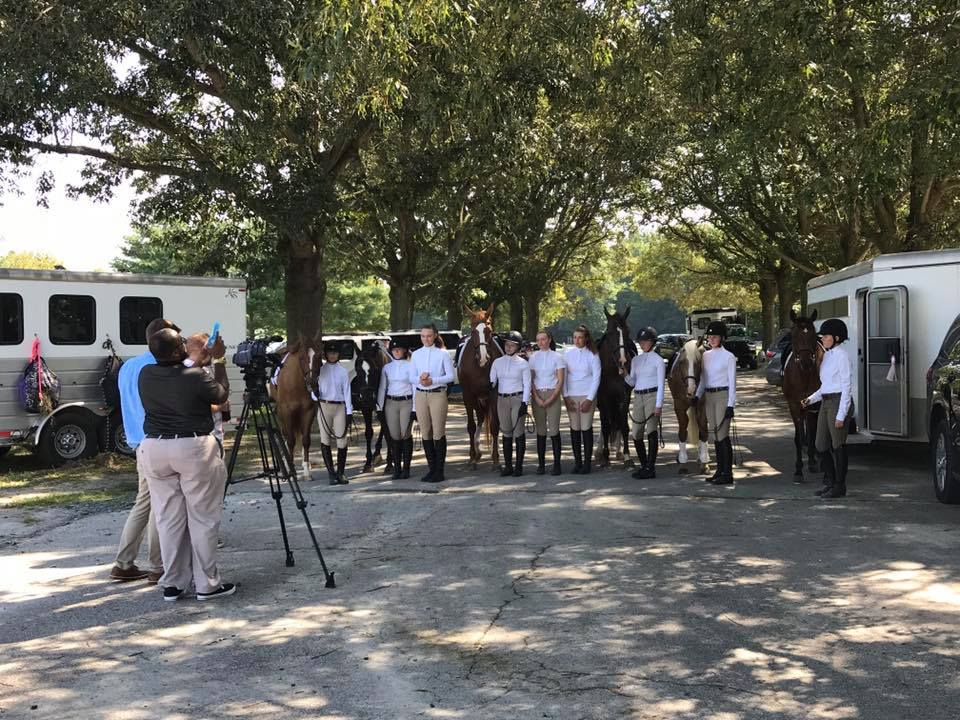 Members of Combined Eastern Shore Horse Shows Give Back to the Community