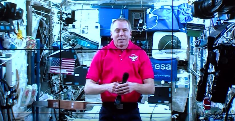 Watch Astronaut Dr. Drew Feustel Live From Space