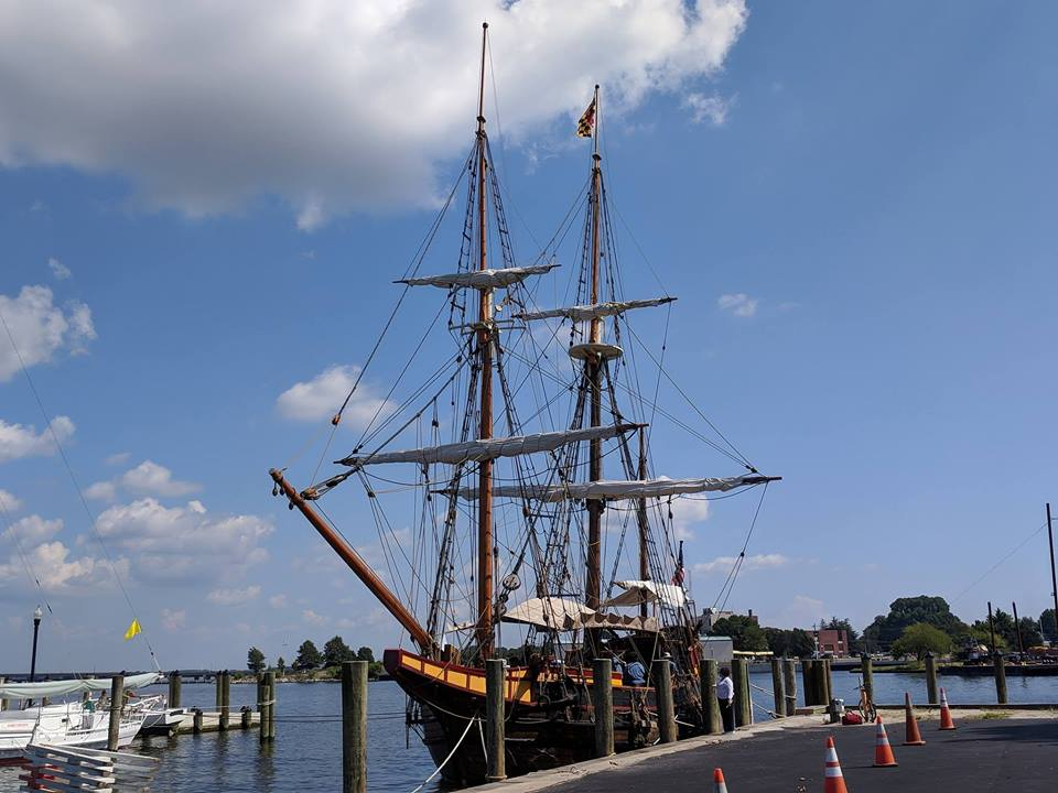 Richardson Maritime Museum Hosts Tall Ship the Maryland Dove