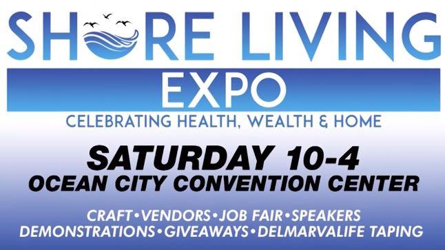 WBOC's Shore Living Expo in Ocean City, Sept. 29