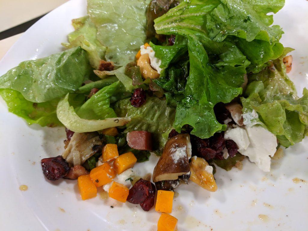 Mushroom Salad with the Robert Morris Inn