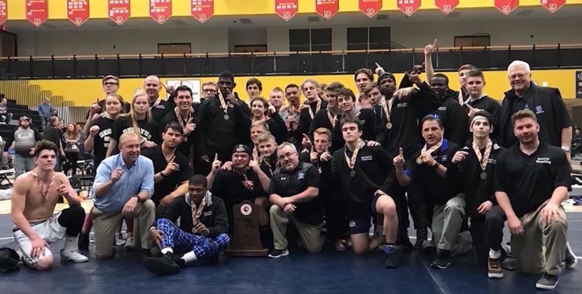 Stephen Decatur Seahawks Wrestling Team, Maryland State Champions