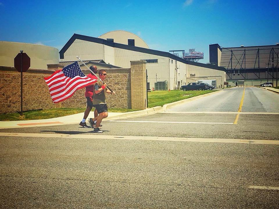 MSgt. Derr of Dover Runs Miles in Honor of His Friend Daniel and to Promote PTSD Awareness