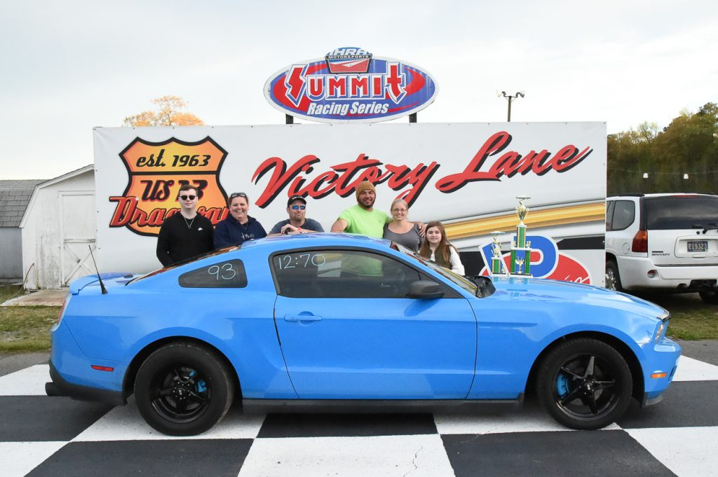 Sales Gets Third Win in a Row on Easter Sunday at U.S. 13 Dragway