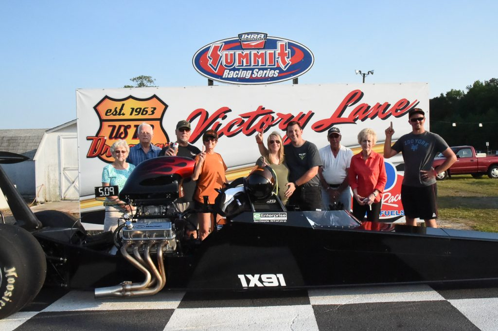 Cathell Takes Top ET Win at U.S. 13 Dragway