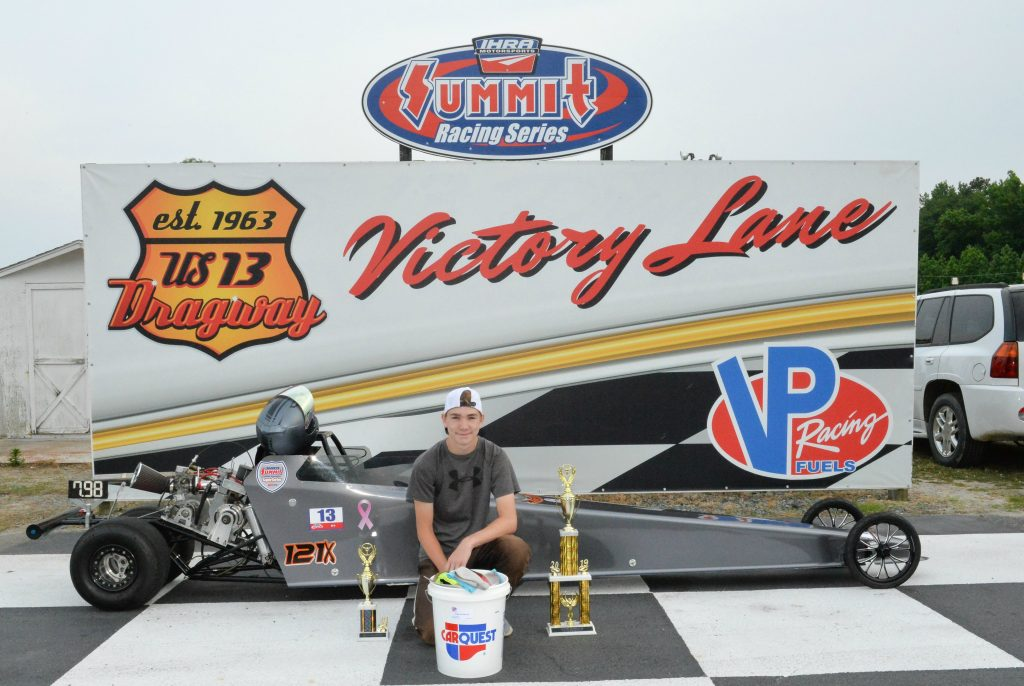 Bowie Takes Jr. Dragster Win at U.S. 13 Dragway