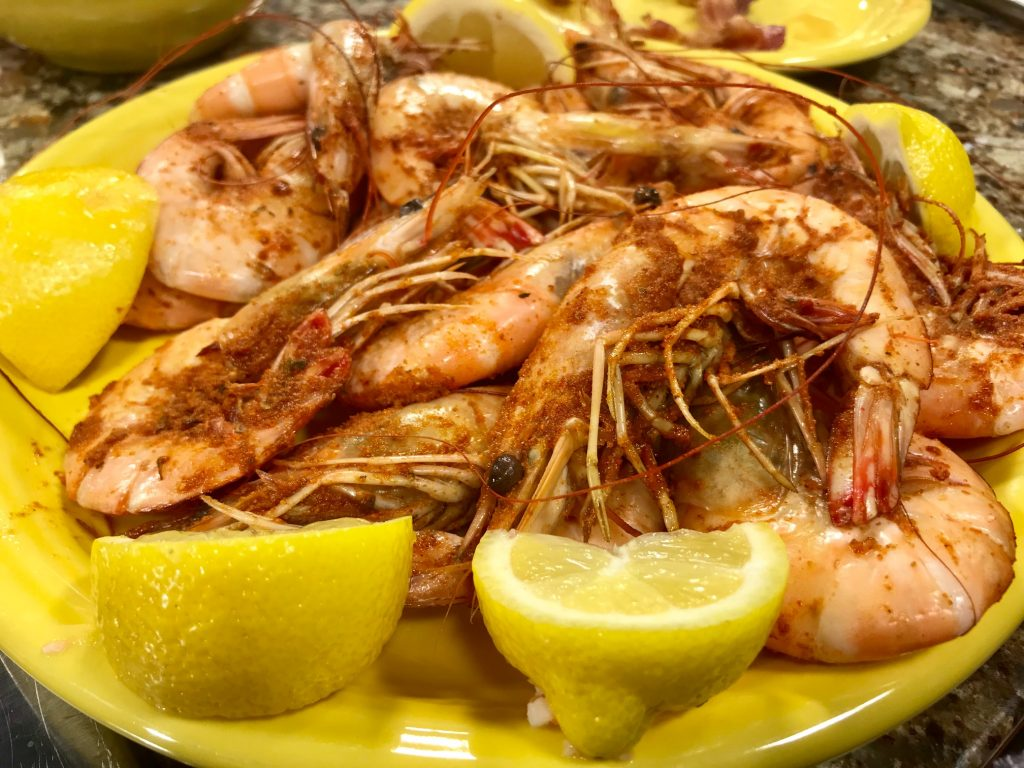 Shrimp Three Ways for Father's Day with the Shrimp Boat