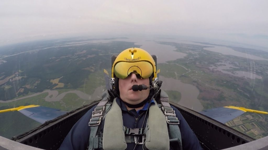 Bill Mich Talks About His Flying Experience with the U.S. Navy Blue Angels