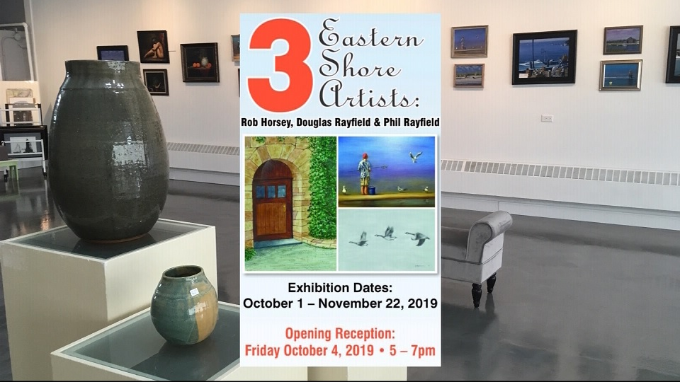 Travels With Charlie: New Gallery Honors 3 Crisfield Artists