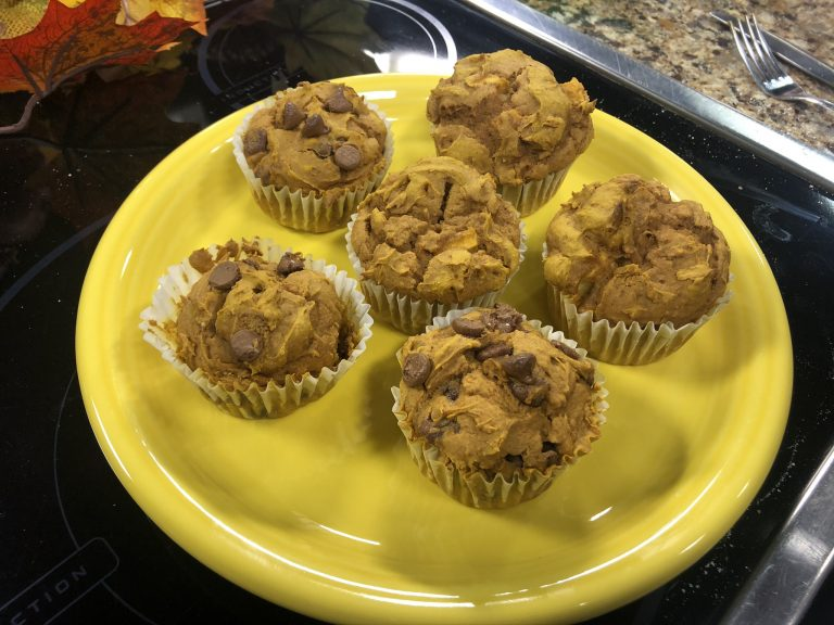 Believe It Or Not  – Three Ingredient Pumpkin Muffins – Corey Shows Us How To Make Them