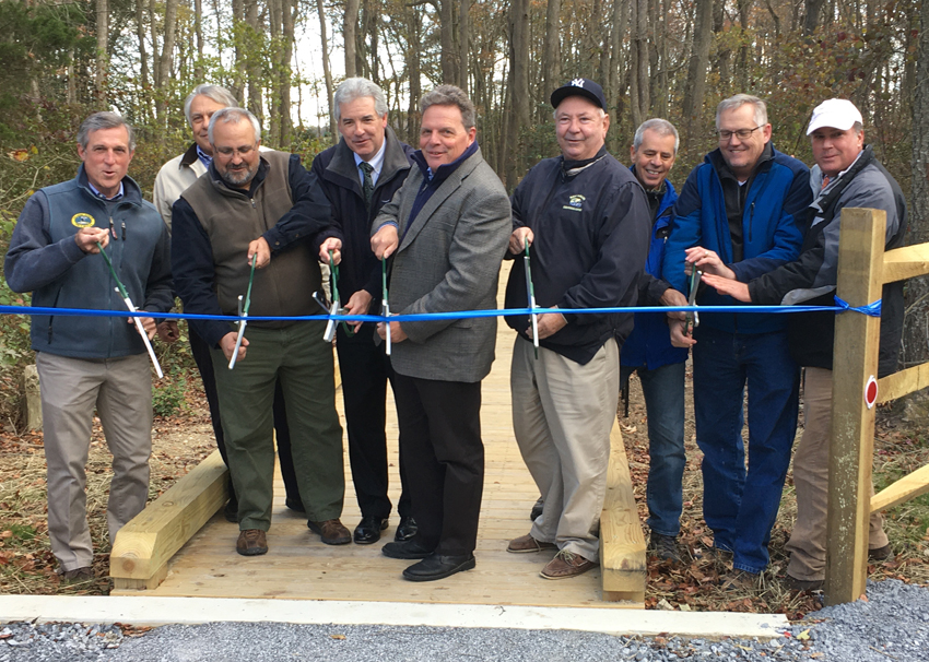 Ribbon Cutting Ceremony Held for New Wildlife-viewing Tower at Little Creek Wildlife Area