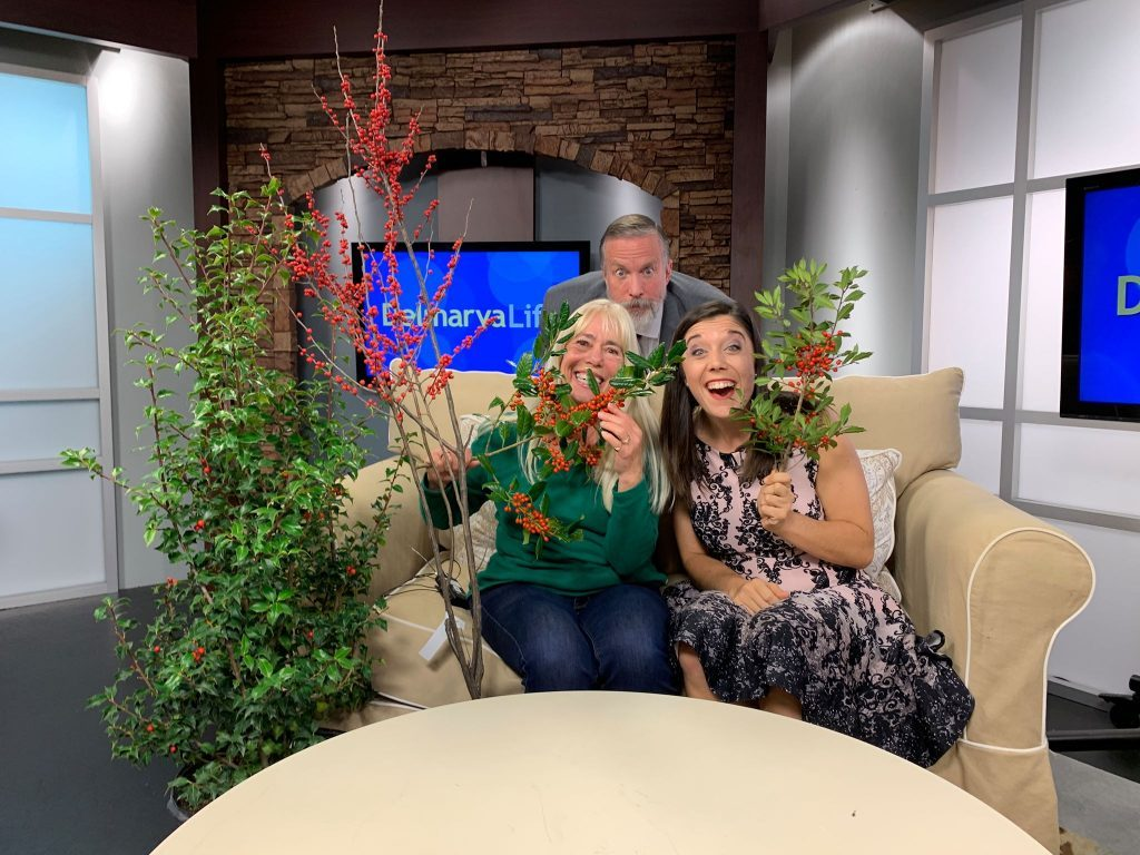 Gardening Expert Ginny Rosenkranz Gives Us Some Ideas On How To Decorate With Holly