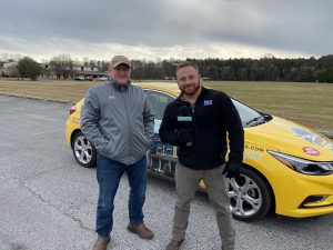 Corey And Brian Spicer Surprise The Second Winner Of Delmarva's Neediest Roof Contest