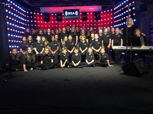 Salisbury University Children's Choir Performs on the Mid South Audio Stage