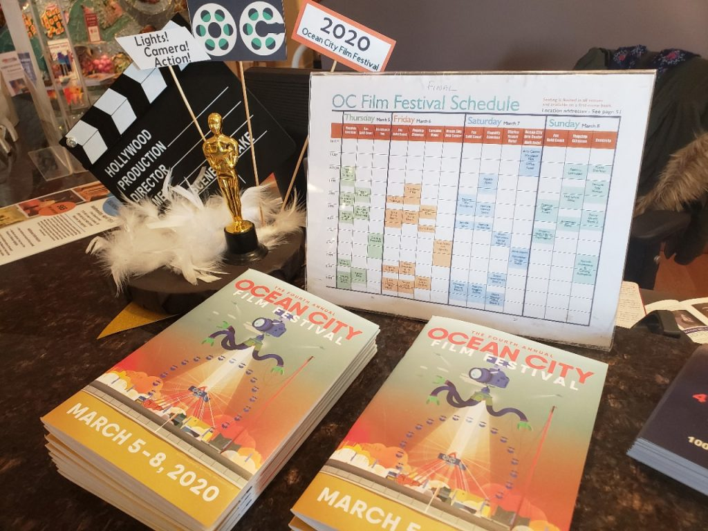 The 4th Annual Ocean City Film Festival: Notes from a Judge or Festival Juror
