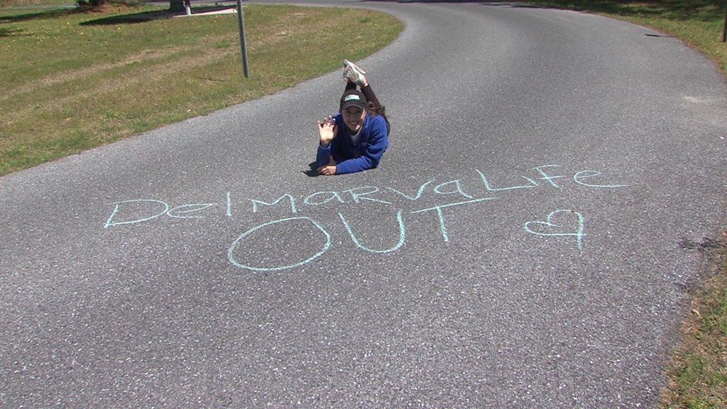 Creating Fun and Encouragement with Sidewalk Chalk