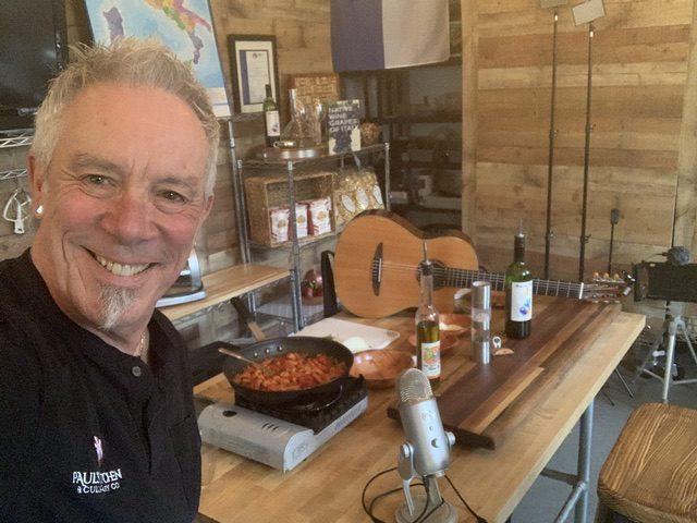 Chef Paul Cullen Prepares Pasta and Sings