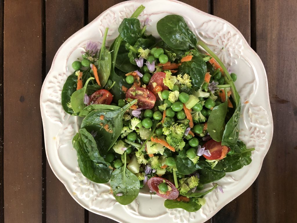 Plant-Based Salad and Vinaigrette Dressing with Nutrition Educator, Lynn Matava
