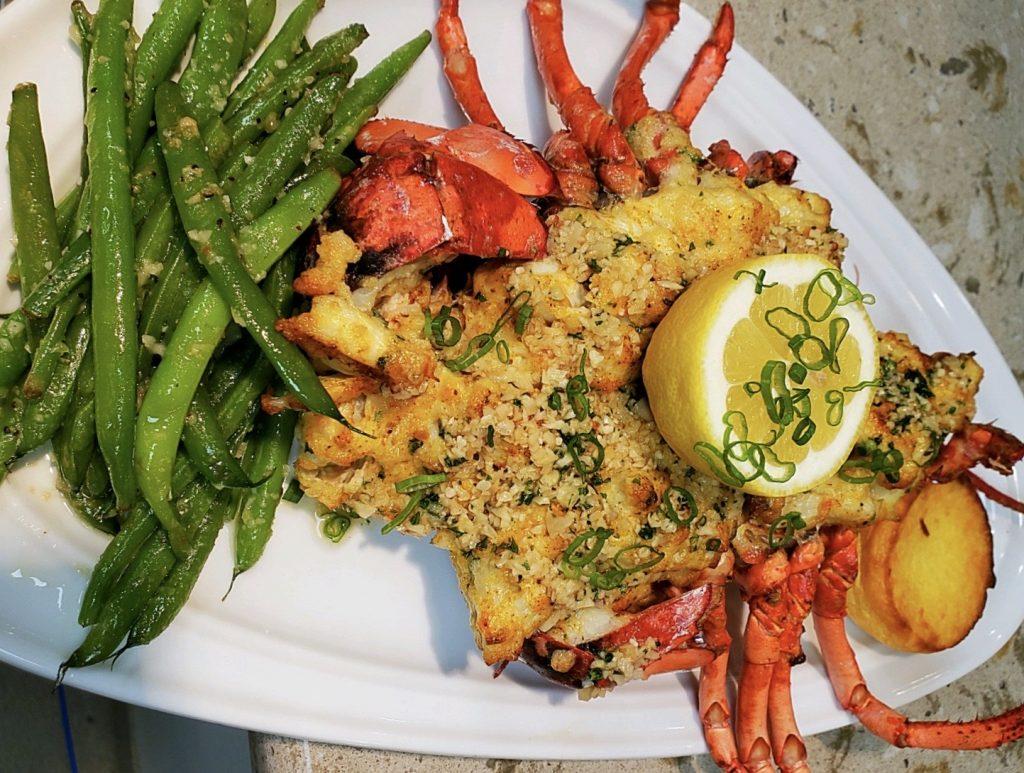 Stuffed Lobster Scampi with Benvenuto Restaurant's Chef Jesus Valentino Gordiany