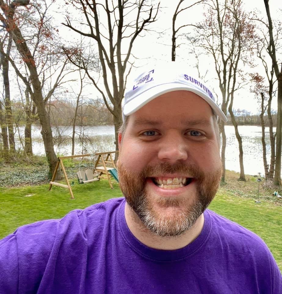 Pancreatic Cancer Survivor Spreading Message of Hope Through Purple Stride