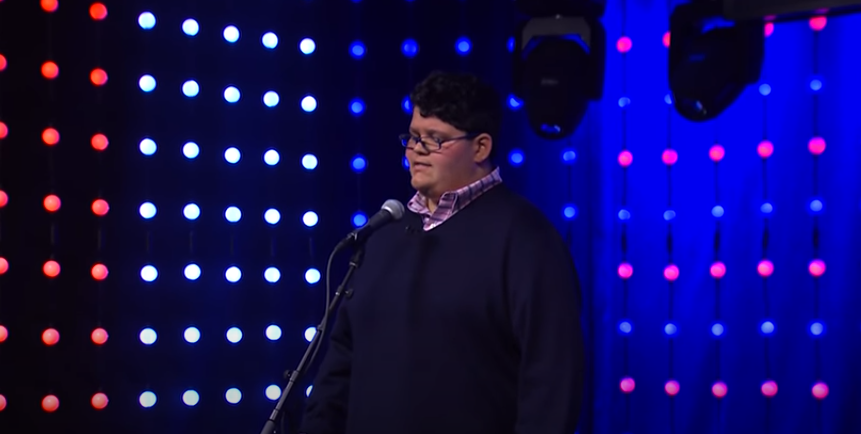 """Noah Milad Performs """"The Impossible Dream"""""""