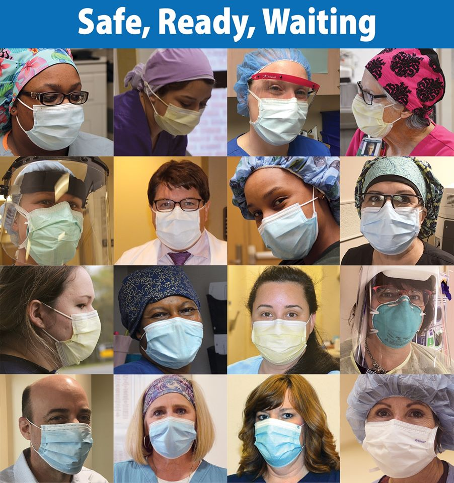 "Local Hospitals Ready To Treat Illnesses and Injuries Other Than COVID With ""Safe, Ready, Waiting"" Campaign"