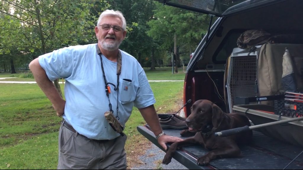 Travels With Charlie: Roy Brewington and Molly, the Chocolate Labrador