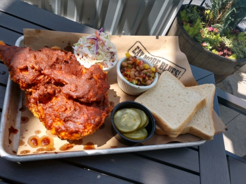 Nashville Hot Chicken and Black-Eyed Pea Salad with Chef Andrew Boyle of Bethany Blues