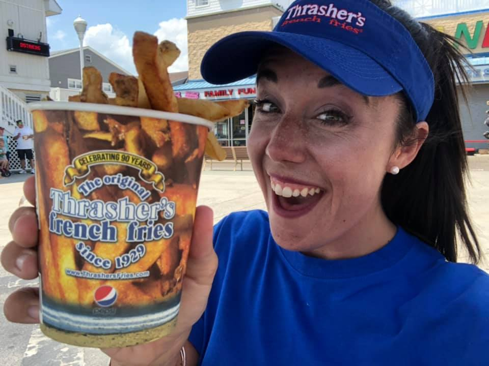 Potato To Perfection: Katie Visits Thrasher's in Ocean City