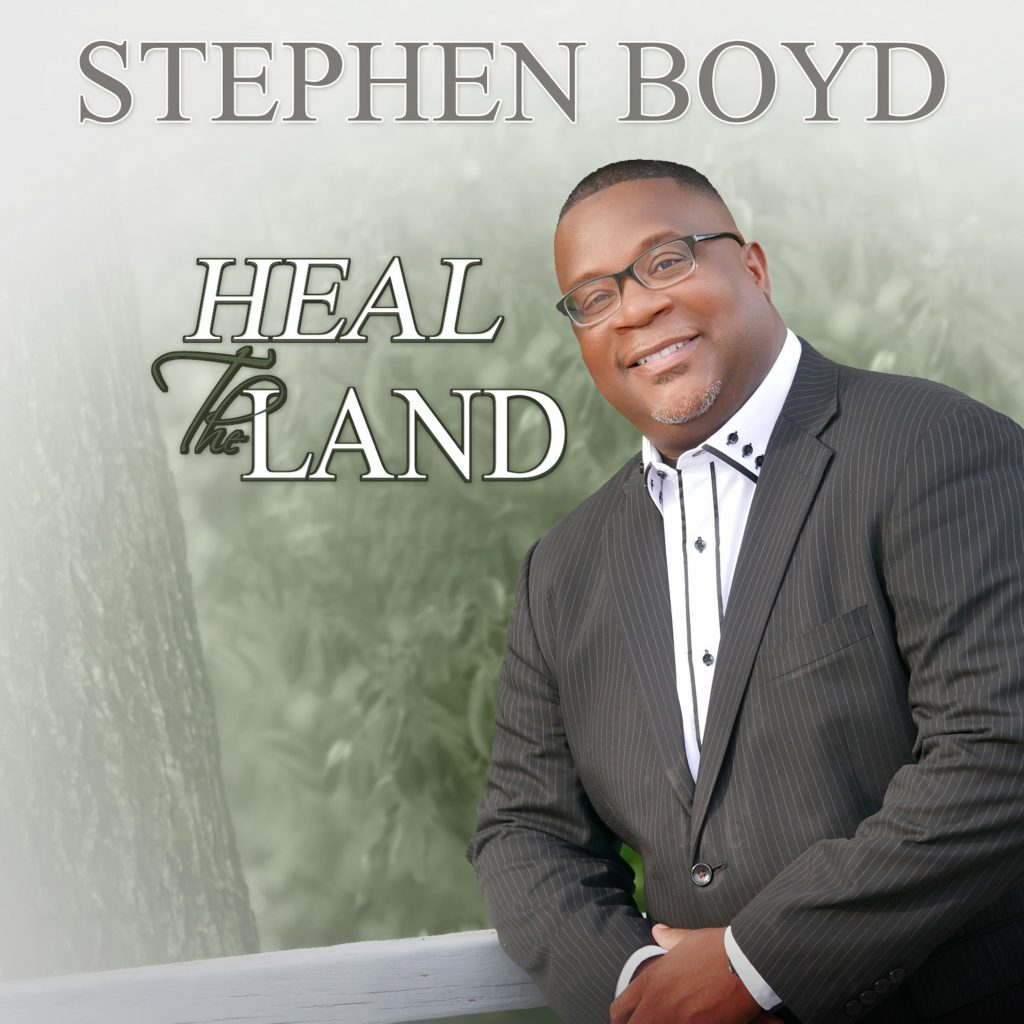 "Stephen Boyd Performs, ""Heal The Land"""