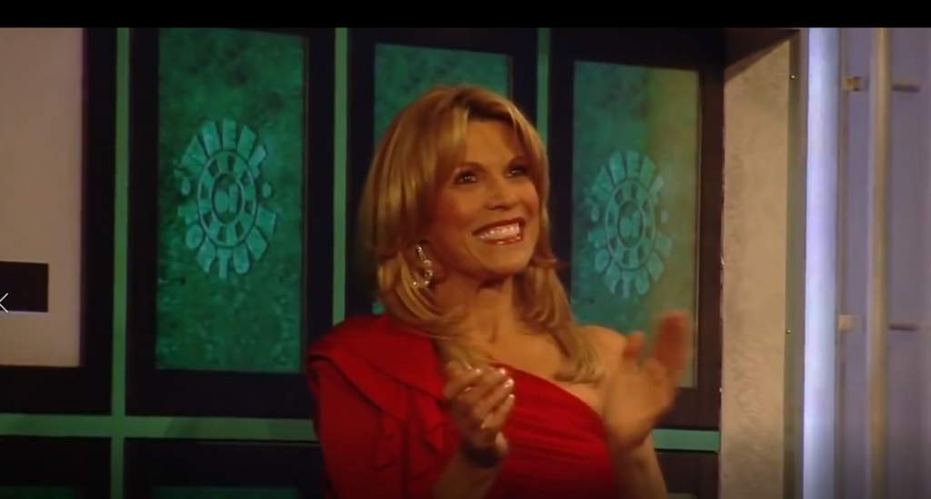 Monday Memories: Backstage with Vanna White
